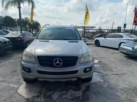 2006 Mercedes-Benz M-Class for sale at America Auto Wholesale Inc in Miami FL