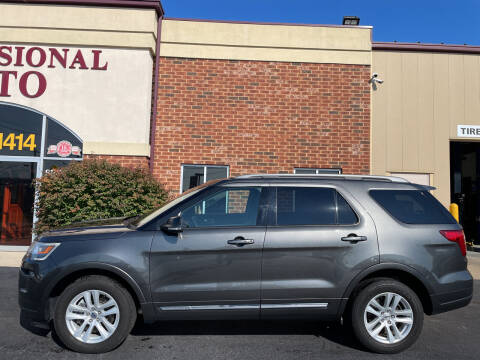2018 Ford Explorer for sale at Professional Auto Sales & Service in Fort Wayne IN