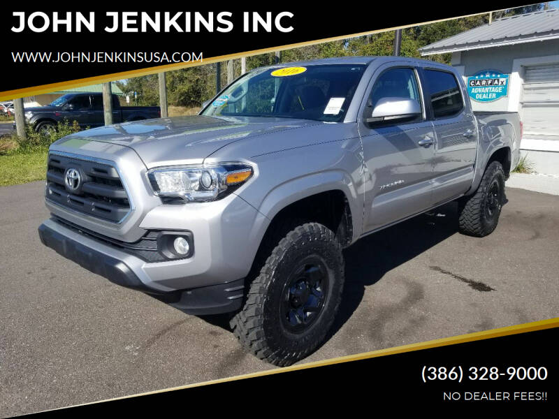 2016 Toyota Tacoma for sale at JOHN JENKINS INC in Palatka FL