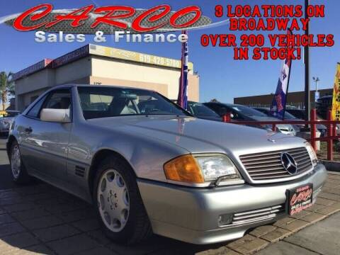 1992 Mercedes-Benz 500-Class for sale at CARCO SALES & FINANCE #3 in Chula Vista CA