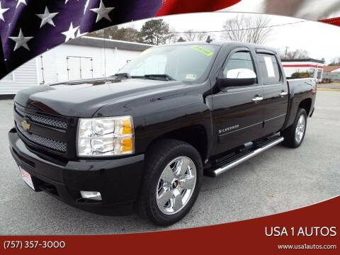 2010 Chevrolet Silverado 1500 for sale at USA 1 Autos in Smithfield VA