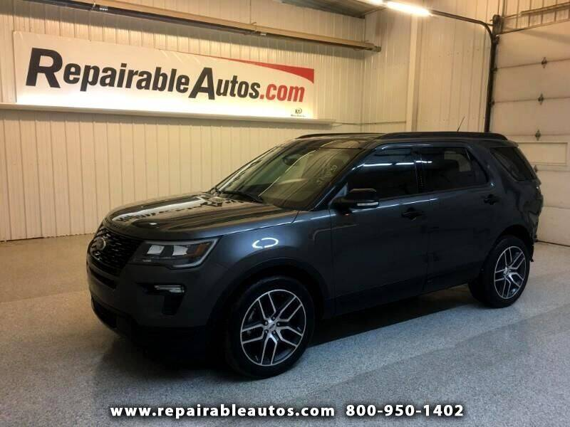 2019 Ford Explorer for sale at Ken's Auto in Strasburg ND