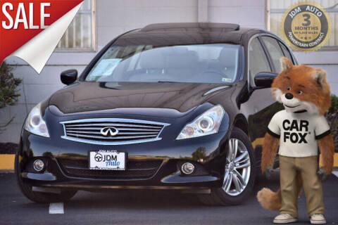 2012 Infiniti G25 Sedan for sale at JDM Auto in Fredericksburg VA