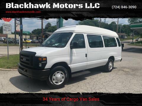 2008 Ford E-Series Wagon for sale at Blackhawk Motors LLC in Beaver Falls PA