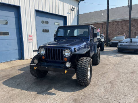 1997 Jeep Wrangler for sale at Pulse Autos Inc in Indianapolis IN