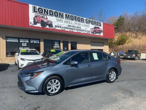 2020 Toyota Corolla for sale at London Motor Sports, LLC in London KY