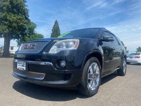 2012 GMC Acadia for sale at Pacific Auto LLC in Woodburn OR
