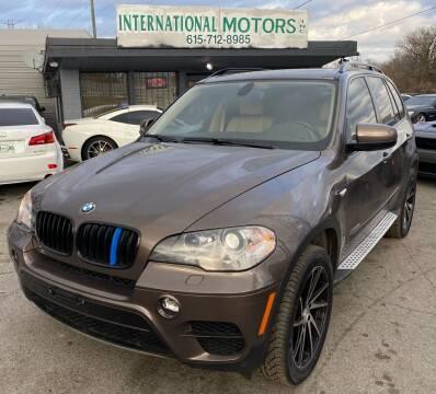 2012 BMW X5 for sale at International Motors Inc. in Nashville TN