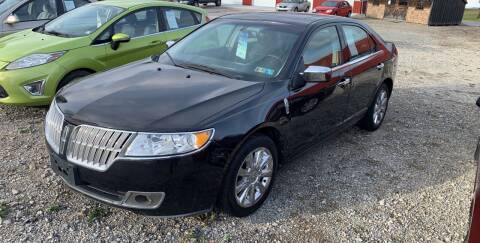 2011 Lincoln MKZ for sale at Simon Automotive in East Palestine OH