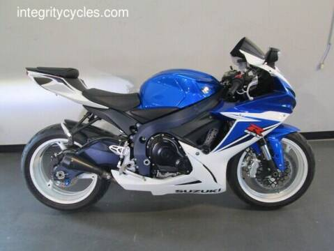 2011 Suzuki GSX-R600 for sale at INTEGRITY CYCLES LLC in Columbus OH