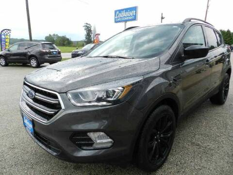 2018 Ford Escape for sale at Leitheiser Car Company in West Bend WI