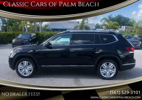 2018 Volkswagen Atlas for sale at Classic Cars of Palm Beach in Jupiter FL