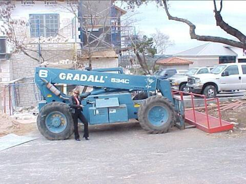 1997 Gradall 534 C-6 Forklift for sale at CarsBikesBoats.com in Round Mountain TX