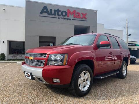 2013 Chevrolet Tahoe for sale at AutoMax of Memphis - V Brothers in Memphis TN