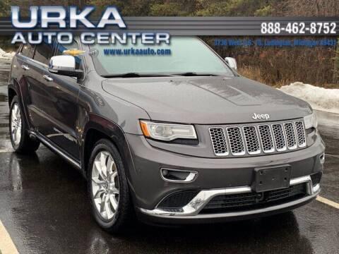 2014 Jeep Grand Cherokee for sale at Urka Auto Center in Ludington MI