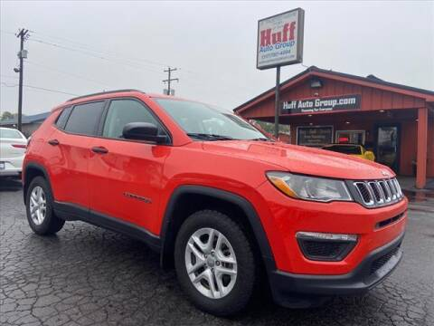 2018 Jeep Compass for sale at HUFF AUTO GROUP in Jackson MI