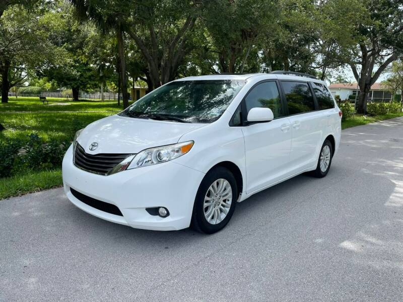 2014 Toyota Sienna for sale at Venmotors Hollywood in Hollywood FL