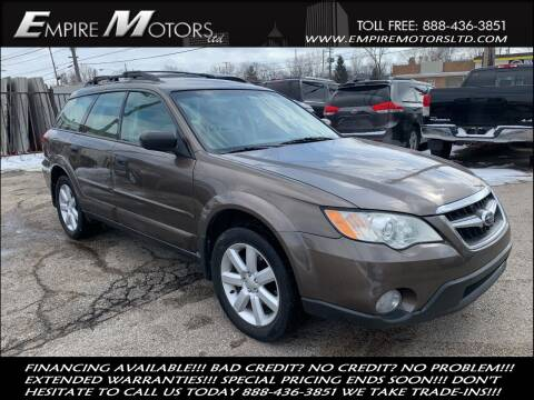 2009 Subaru Outback for sale at Empire Motors LTD in Cleveland OH