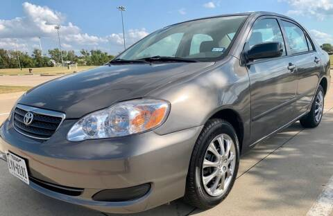 2007 Toyota Corolla for sale at Driveline Auto Solution, LLC in Wylie TX