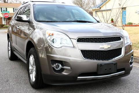 2012 Chevrolet Equinox for sale at Prime Auto Sales LLC in Virginia Beach VA