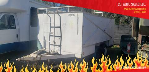 2018 A Cargo Trailer  6x14 for sale at C.J. AUTO SALES llc. in San Antonio TX