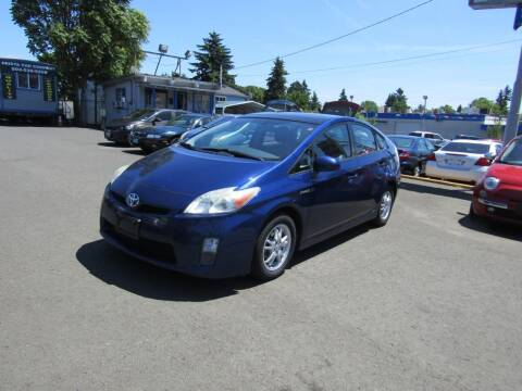 2011 Toyota Prius for sale at ARISTA CAR COMPANY LLC in Portland OR