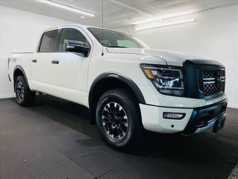 2021 Nissan Titan for sale at Champagne Motor Car Company in Willimantic CT