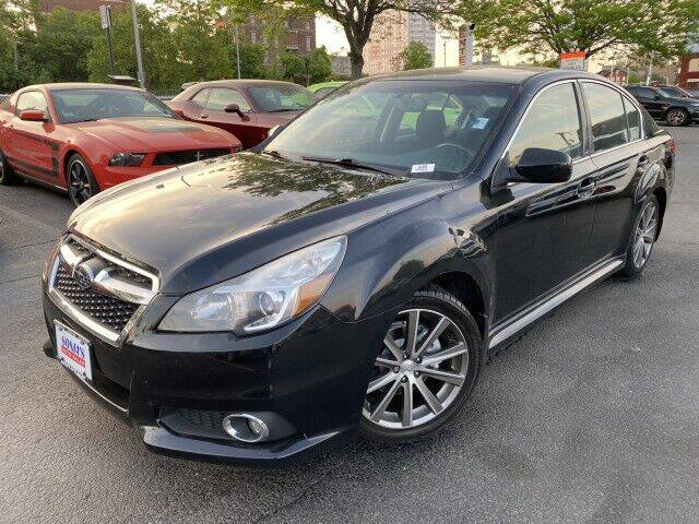 2014 Subaru Legacy for sale at Sonias Auto Sales in Worcester MA