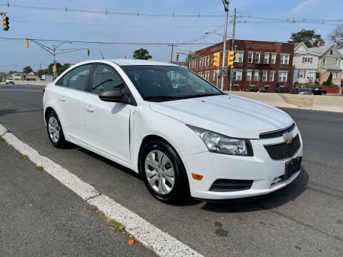2012 Chevrolet Cruze for sale at G1 AUTO SALES II in Elizabeth NJ
