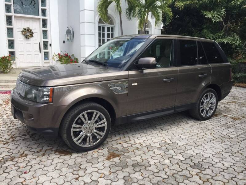 2010 Land Rover Range Rover Sport for sale at Thoroughbred Motors in Sarasota FL
