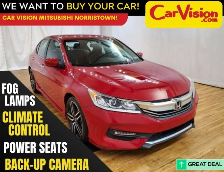 2016 Honda Accord for sale at Car Vision Mitsubishi Norristown in Trooper PA