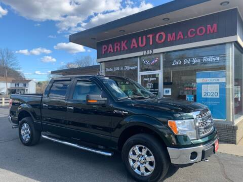 2013 Ford F-150 for sale at Park Auto LLC in Palmer MA