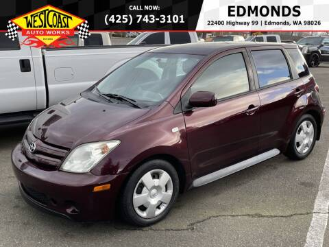 2005 Scion xA for sale at West Coast Auto Works in Edmonds WA