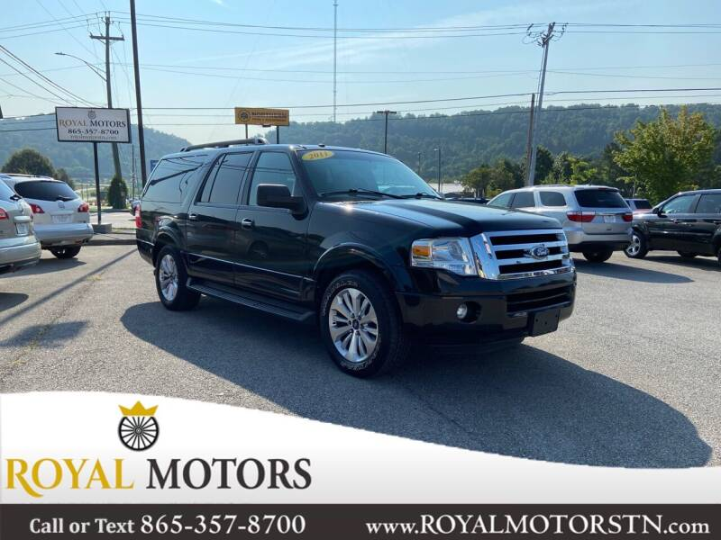 2011 Ford Expedition EL for sale at ROYAL MOTORS LLC in Knoxville TN