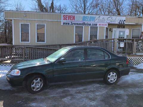 1999 Honda Civic for sale at Seven and Below Auto Sales, LLC in Rockville MD