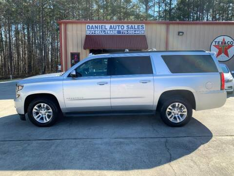 2016 Chevrolet Suburban for sale at Daniel Used Auto Sales in Dallas GA