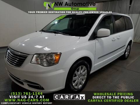 2016 Chrysler Town and Country for sale at NW Automotive Group in Cincinnati OH