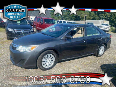 2012 Toyota Camry for sale at J & E AUTOMALL in Pelham NH