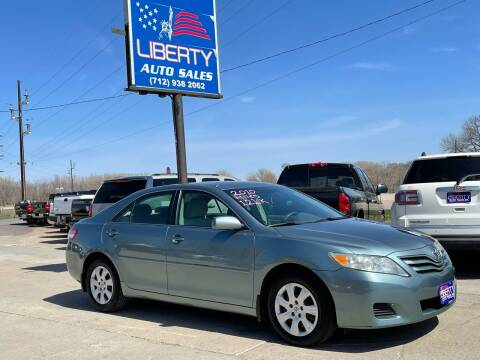 2010 Toyota Camry for sale at Liberty Auto Sales in Merrill IA