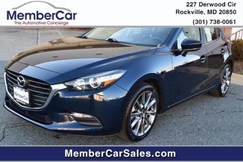 2018 Mazda MAZDA3 for sale at MemberCar in Rockville MD