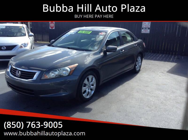 2009 Honda Accord for sale at Bubba Hill Auto Plaza in Panama City FL