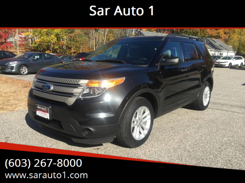 2015 Ford Explorer for sale at Sar Auto 1 in Belmont NH