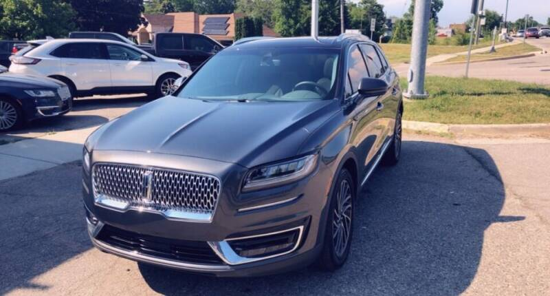2020 Lincoln Nautilus for sale at One Price Auto in Mount Clemens MI