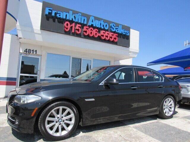 2015 BMW 5 Series for sale at Franklin Auto Sales in El Paso TX