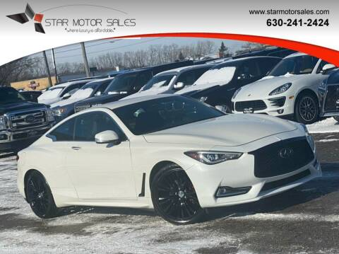 2017 Infiniti Q60 for sale at Star Motor Sales in Downers Grove IL