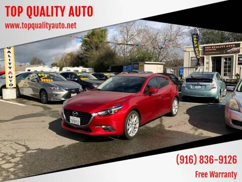 2017 Mazda MAZDA3 for sale at TOP QUALITY AUTO in Rancho Cordova CA