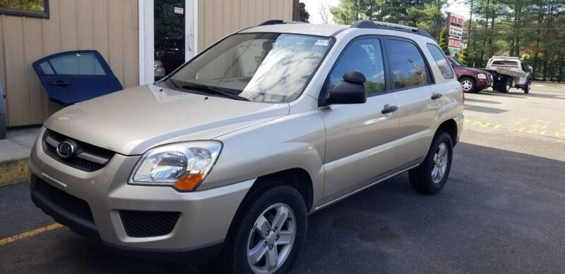 2009 Kia Sportage for sale at Central Jersey Auto Trading in Jackson NJ