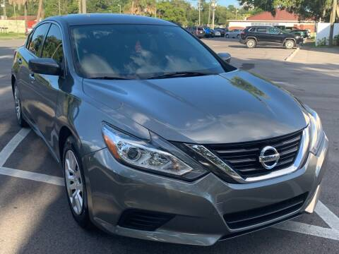 2016 Nissan Altima for sale at Consumer Auto Credit in Tampa FL