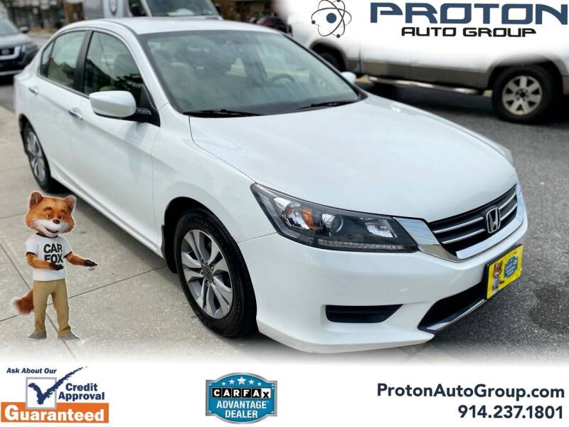 2015 Honda Accord for sale at Proton Auto Group in Yonkers NY