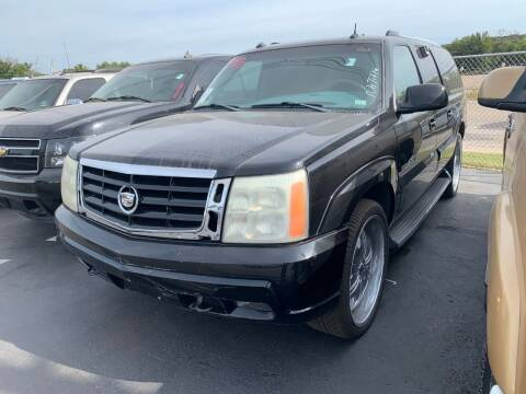 2003 Cadillac Escalade ESV for sale at American Motors Inc. - Cahokia in Cahokia IL